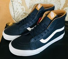4f1597b30f6226 VANS SK8-HI REISSUE PREMIUM LEATHER PARISIAN SZ US M 8.5 US W 10 EUR 41   VANS  AthleticSneakers