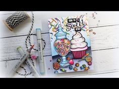 Shaker Candy Jar One Layer Scene: Mystery Boxes and My Car Accident Bone Folder, Donut Party, Writing Pens, Stamping Tools, Colouring Pages, Coloring, Shaker Cards, Mystery Box, Pen Sets