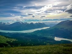 Moose Pass mountain majesty, Alaska. Photo by: Spring Sibayan.