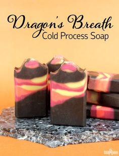 How to Make Dragon's Breath Cold Process Soap