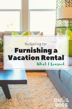I totally underestimated my budget for furnishing our vacation rental! - I totally underestimated my budget for furnishing our vacation rental! Airbnb Rentals, Beach Condo, Beach House, Airbnb Host, Rental Decorating, Vacation Home Rentals, Up House, Income Property