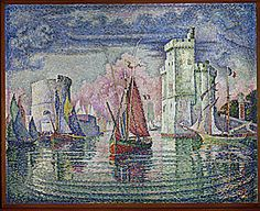 Port de La Rochelle, 1921, Paul Signac