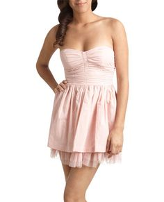 Strapless dress from Wet Seal