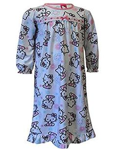 Hello Kitty Snowflakes Sparkles Nightgown. *** Be sure to check out this awesome product. (This is an affiliate link)