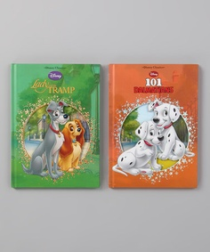 Take a look at this Lady & the Tramp & 101 Dalmatians Die-Cut Hardcover by Parragon on #zulily today!
