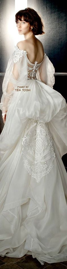 1 million+ Stunning Free Images to Use Anywhere 2017 Bridal, Bridal Gowns, Wedding Gowns, Parisian Wedding, Bridal Salon, Groom Outfit, Dream Dress, Bridal Collection, Beautiful Bride