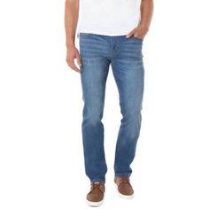 Jordache Men's Slim Fit Denim (Blue) Pants, Size: 34 x 30