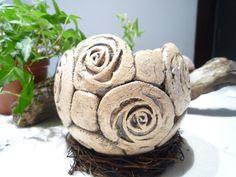 Keramikpflanzkugel von Natur&Ton auf DaWanda.com