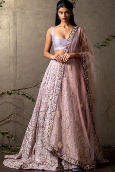 //Shayama & Bhumika lavender gorgeousness