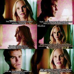 """#TVD 7x21 """"Requiem for a Dream"""" - Stefan and Caroline"""