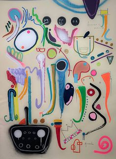 Joy 1.1 Painting by Cristian Armenta | Saatchi Art Abstract Expressionism, Abstract Art, Original Art, Original Paintings, Art Life, Surrealism, Buy Art, Saatchi Art, Contemporary Art