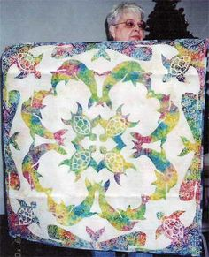 Sea Turtle Quilt | Sea turtle quilts, Turtle quilt and Hanging art : sea turtle quilt pattern - Adamdwight.com