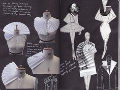 Resultado de imagem para paper fashion design