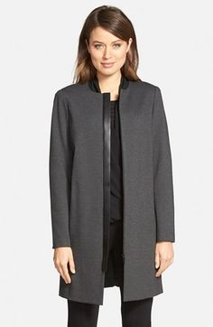 Lafayette+148+New+York+'Shira'+Punto+Milano+Coat+available+at+#Nordstrom