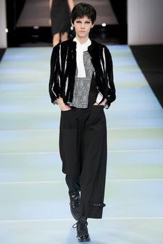 Emporio Armani | Fall 2014 Ready-to-Wear Collection | Style.com