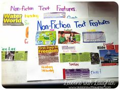 Lessons with Laughter: Nonfiction Text Features!