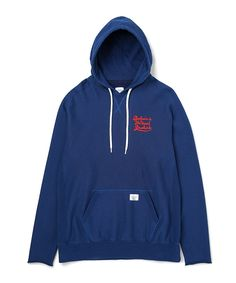 """L/S F-SLEEVE PULLOVER HOODED SWEAT """"DAVID"""" - MEN -ONLINE STORE-"""
