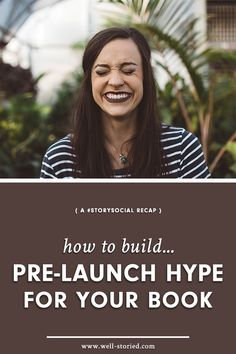 How to Build Pre-Launch Hype for Your Book