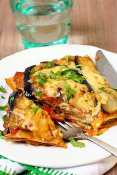 Lasagna with seasonal vegetables in season enjoy southern vegetables, a vegetarian recipe- - Quick Easy Healthy Meals, Healthy Food To Lose Weight, Healthy Meal Prep, Healthy Snacks, Easy Meals, Healthy Eating, Veggie Recipes, Vegetarian Recipes, Clean Eating Recipes