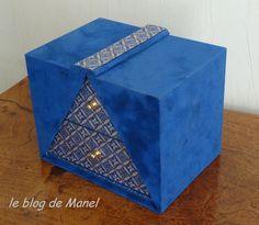 Les cartonnages de Manel / boite K'do rectangulaire