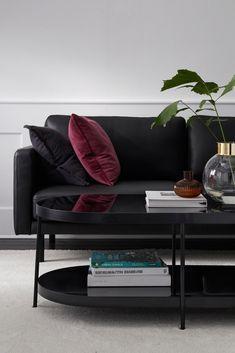 Jasmin sofabord med heve senke plater og med oppbevaring i