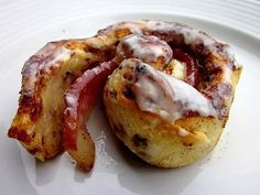 Sweet and Savory Bacon Cinnamon Rolls. Wow.