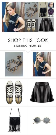 """The Doors to My Heart"" by jasmine-arminda ❤ liked on Polyvore featuring Converse, Boohoo and WithChic"