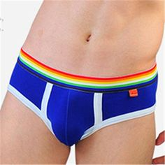 4487e253079 Addicted Briefs Slip Men 100% Cotton Mens Underwear Briefs Red Mens Bikini  Addicted Underwear Men s
