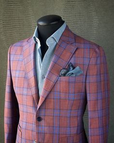 Mens Fashion Smart – The World of Mens Fashion Mens Fashion Blog, Mens Fashion Suits, Mens Suits, Sharp Dressed Man, Well Dressed Men, Suit Up, Plaid Jacket, Sports Jacket, Blazers