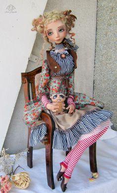 Anna Fadeeva dolls