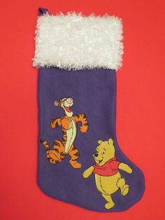 Winnie the Pooh and Tigger Christmas Stocking