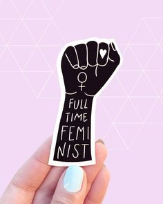 A sticker that youll want on every notebook/laptop case/phone cover/planner in sight. - Imac Laptop - Ideas of Imac Laptop - A sticker that youll want on every notebook/laptop case/phone cover/planner in sight. Feminist Af, Feminist Quotes, Feminist Patch, Feminist Apparel, Feminist Tattoo, Riot Grrrl, Intersectional Feminism, Pin And Patches, Laptop Stickers