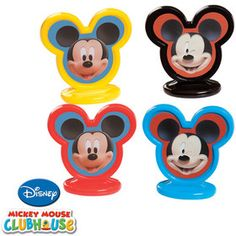 MICKEY MOUSE CUPCAKE TOPPERS #Disney