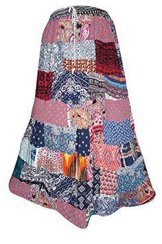 Mogul Interior Ladies Long Skirt Vintage Patchwork Rayon ... https://www.amazon.co.uk/dp/B01LXCWCAH/ref=cm_sw_r_pi_dp_x_9IOTybRAX14EH