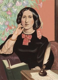 """Mary Ann Evans """"George Eliot"""" author of The Mill on the Floss, Silas Marner, Daniel Deronda, Middlemarch and more. Bbc, Silas Marner, Woman Reading, Reading Art, Haruki Murakami, Page Turner, Pride And Prejudice, The New Yorker, Jane Austen"""