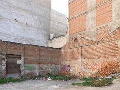 Ακάλυπτος στην οδό Αισώπου (Νοέμβριος 2016)