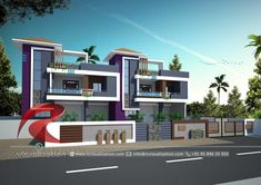 Rc Visualization is a growing Plan & Elevation Designing company. We are expert in architectural Planning, Elevation Designs, interior designs and realistic renderings. House Balcony Design, Flat House Design, Duplex House Design, Kerala House Design, Architecture Company, Architecture Plan, Building Elevation, House Elevation, Front Elevation