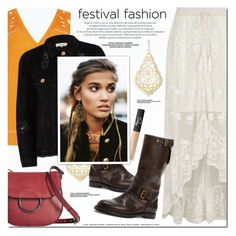 """""""Festival Trend"""" by a-a-nica ❤ liked on Polyvore featuring River Island, NARS Cosmetics, French Connection, Kendra Scott and Ralph Lauren"""