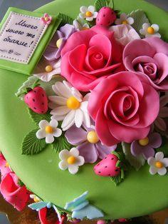 Wild strawberries cake   Flickr - Photo Sharing!