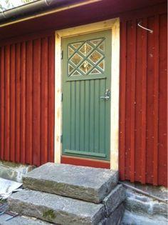 Konsten att flytta ett torp: Min fina dörr