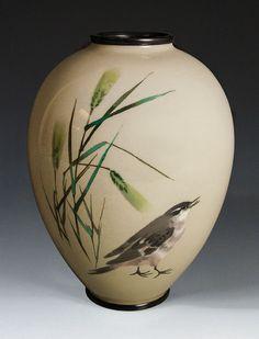 Cloisonne Vase - Namikiawa Sosuke seal - Meiji Period