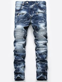 New Brand Mens Snow Designer Fashion Slim Skinny Moto Biker Casual Jeans Straight Motorcycle Jeans Men Destroyed Denim Trousers , Free Safe Payment & Buyer Protection. Buy Now! Stock in USA. Jeans Moto, Motorcycle Jeans, Ripped Jeans Men, Skinny Fit Jeans, High Jeans, Denim Pants, Men's Jeans, Tall Jeans, Retro Motorcycle