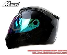 Aliexpress.com : Buy Top Brand Masei Helmet 848 Black Double Lens ...
