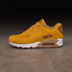 release date 3230b 4f825 Nike Air Max 90 Premium Leather – AH8046-200 – Sneakers   Step ♢ Walk ♧ Run  ♤ Hike ♥ for Men   Nike air max, Air max 90 premium, Sneakers