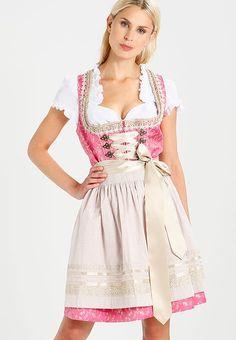 Krüger Dirndl Dirndl - pink für 134,95 € (30.10.17) versandkostenfrei bei Zalando bestellen..  |   S❤