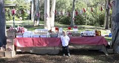 Picnic in The Park for Tahlin's 4th Birthday Party | CatchMyParty.com
