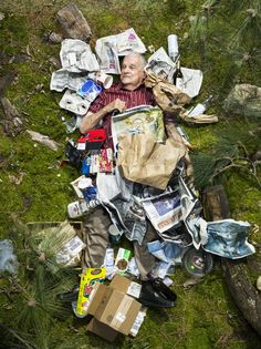 Nine Different Households, Surrounded by a Week's Worth Garbage | Smart News | Smithsonian