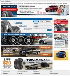Costco tires for sale
