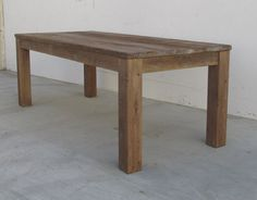 SALE, AVAILABLE NOW, Original Sample Table, Dining Table, Reclaimed Wood, Kitchen Table, Handmade, Original Signed & Dated Table