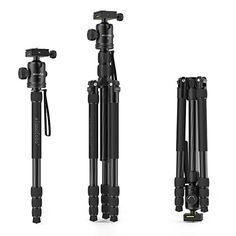 Carbon Fiber Portable Travel Tripod with 360 Degree Tripod Ball Head Compact With DSRL Camera 65 Tripod with Nice Travel Bag >>> You can find out more details at the link of the image. (This is an affiliate link) Nice Travel, Travel Bag, Camera Bags, Tripod, Carbon Fiber, Compact, Amazon, Link, Image